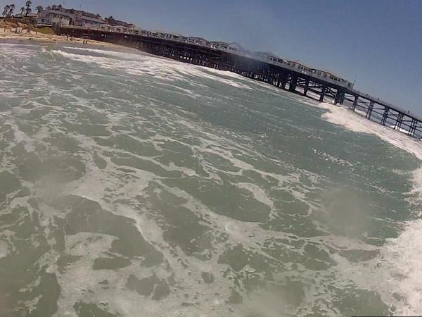 En bild på när jag surfar