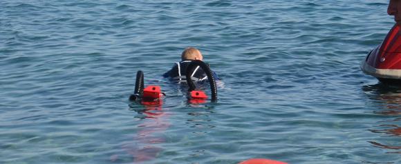 flyboard i vattnet
